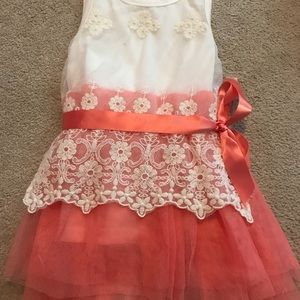 Other - Boutique kids dress size 2T lace, fancy tulle